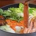絶妙に旨い!鶏つみれ団子とたっぷり野菜のかにしゃぶレシピ