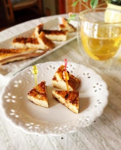生クリーム&ヨーグルトも使いません!だけどしっとり「ベイクドチーズケーキ」出来ました。