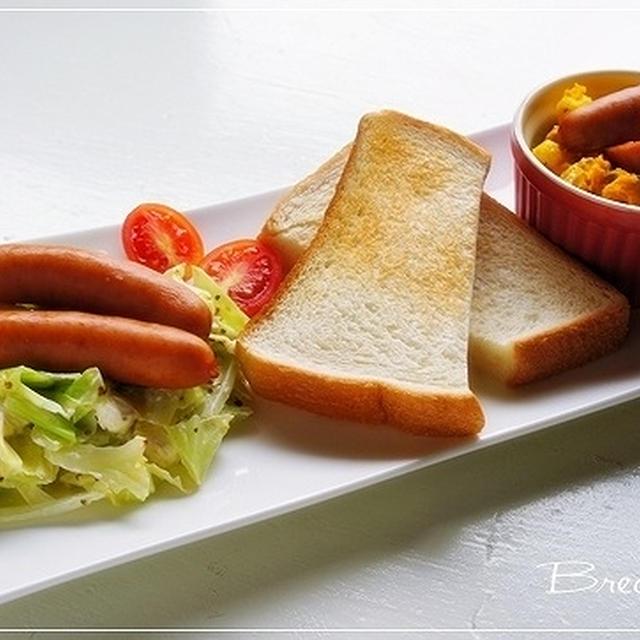 シャウエッセンを使った美味しい簡単朝食♪