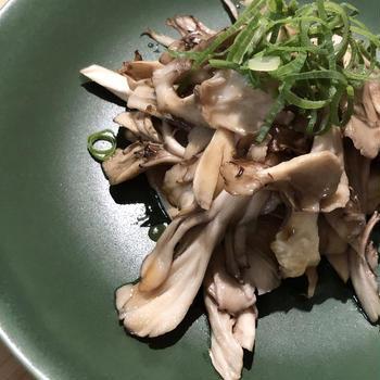レコルト エアーオーブンで作る、舞茸のシンプルグリル♪だし醤油かけ