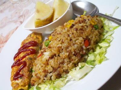 Curry&Curry なワンプレート研究会♪肉そぼろドライカレー♪