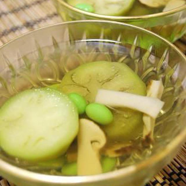 水なすと松茸のゼリー寄せと焼肉のたれコンテストで・・・