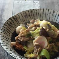【ボーソー米油部】白菜たっぷり中華おこげ