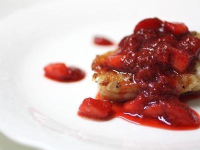 >苺のソース by jugonさん