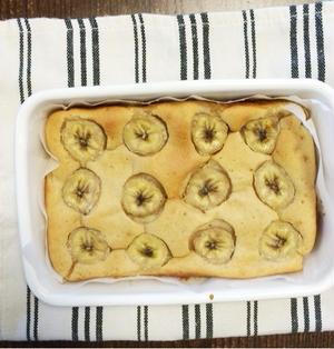 全粒粉のバナナケーキ