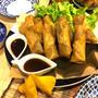 レシピ☆豚肉と野菜スティックの春巻き