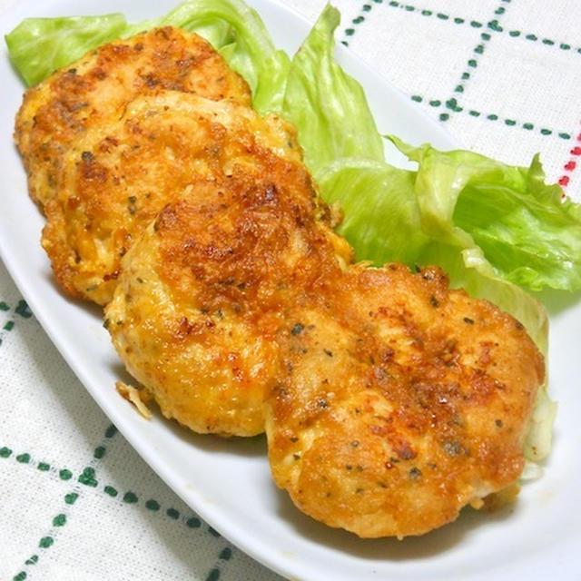 ヘルシー&ボリューミィ簡単おつまみおかず〜お弁当にもオススメ!バジルで爽やか〜ささみのピカタ。