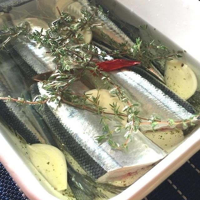 秋刀魚コンフィ