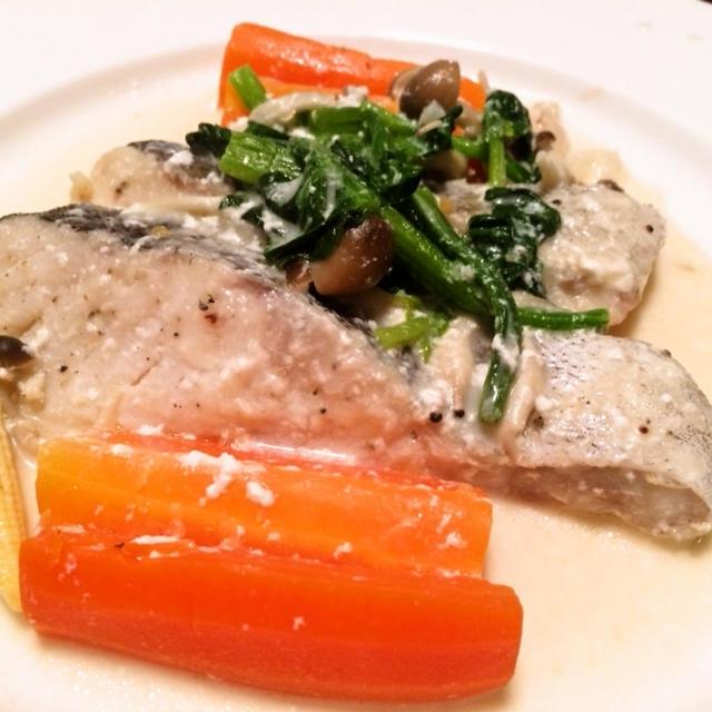 鍋以外でも鱈がうまい。野菜たっぷりで作る「タラのクリーム煮」