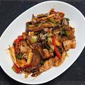 豚肉と野菜の中華風味噌炒め