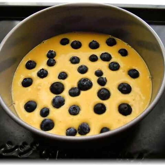 ブルーベーリーケーキ レシピ