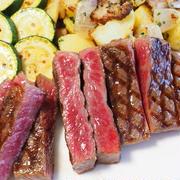 ハネシタのステーキ