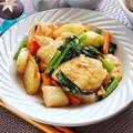 鶏胸肉と長芋の味噌炒め|レシピ・作り方【You Tube動画アリ】