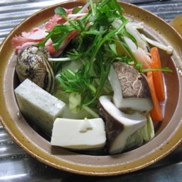 TONYU NABE (Soy milk Hot pot)  豆乳鍋