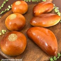 【菓子パン】クリームパンと栗白あんパン