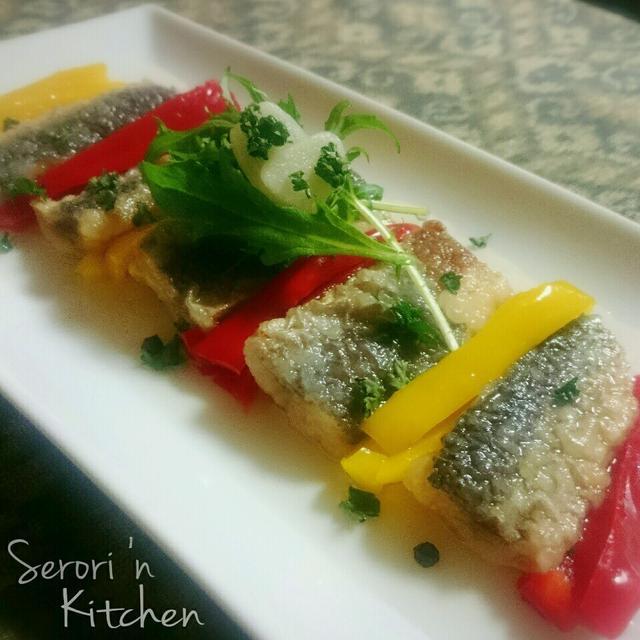 夏野菜カラフルマリネ