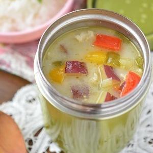 忙しい時はスープジャーにおまかせ!野菜たっぷりスープを携帯しよう♪