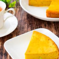 アニス入り!かぼちゃのもちもちしっとりケーキのレシピ
