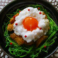 暮らしニスタ掲載報告♪鶏むね肉&豆苗の煮からめ焼き鳥のTKG~♪ by ハッピーさん