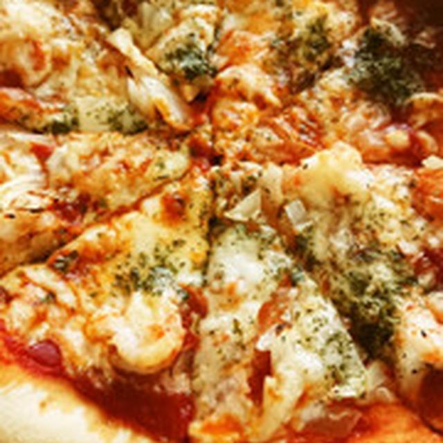 米粉の美味しいいピザ