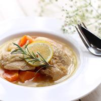 【鶏肉】普段使いの食材で贅沢気分☆鶏肉の白ワイン煮