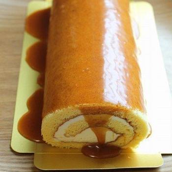 塩キャラメル・ロールケーキ