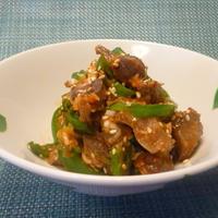 砂肝の甘辛ナムル
