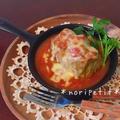 ロールキャベツ3段活用♡コンソメ〜トマト煮込み〜とろーりチーズ&トマトソース♡