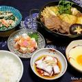 100円の鍋で一人すき焼き定食完成〜