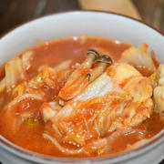 鶏と白菜のぽかぽかトマト煮