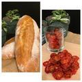 ミニトマト消費でドライトマトを作りました!!パン焼きはバタール