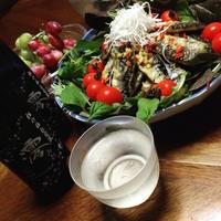 秋刀魚のオリーブオイル焼き!