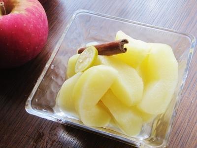 林檎のコンポート~シナモン風味