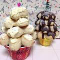 ちぎりパンを応用♪ 「クリスマスツリーぱん」 by yunaさん