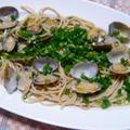 簡単!イタリアンと和の融合。青ネギとミソスープのボンゴレマローネ