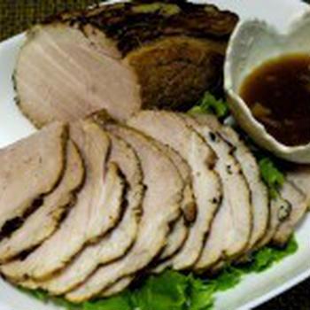 豚モモ肉 de ローストポーク