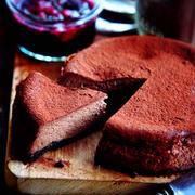 ♡混ぜて焼くだけ♡チョコレートチーズケーキ♡【#簡単#お菓子#クリスマス】