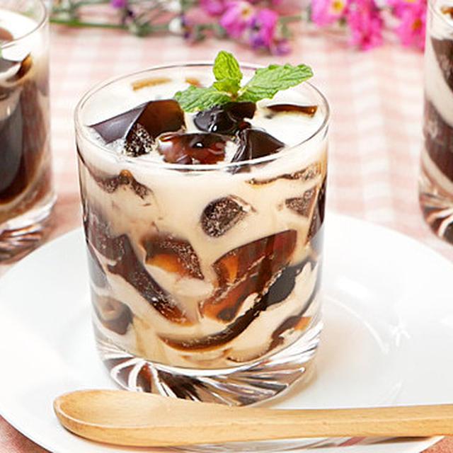 ココナッツミルクのコーヒーゼリーの作り方