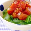 切って和えるだけ♪カンタン美味しい「お魚ユッケ丼」レシピ5選 by みぃさん
