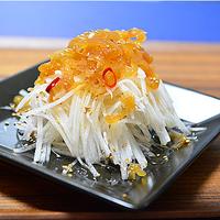 中華くらげの大根サラダ ☆ 積丹ブルー
