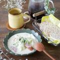 キャベツとウィンナーの濃厚クリームスープ