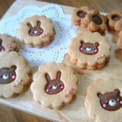 チョコサンドクッキー