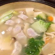 【口福♪】一年に一度のお楽しみ鍋は冬しか食べられない限定鍋!
