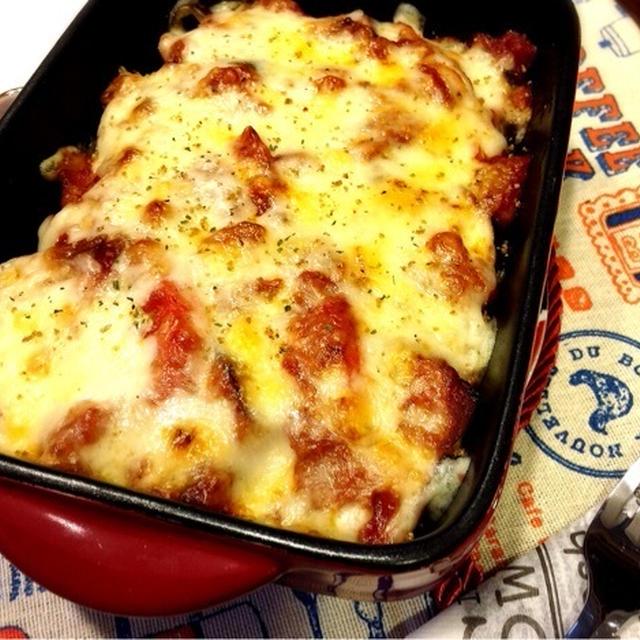 父の日。 と めっちゃジューシー♡トマトの旨みがぎゅっと詰まったナスチーズ♪