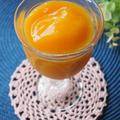 缶短!冷凍黄桃とキャロット煮のスムージ~
