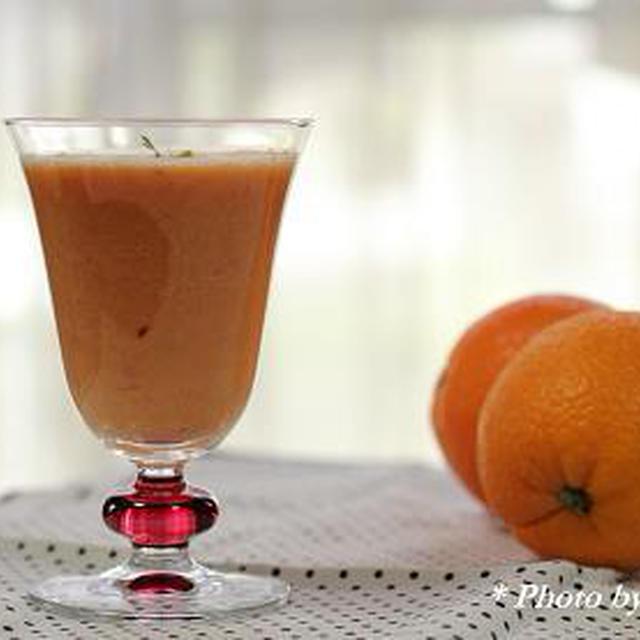 【レシピ】オレンジミックスジュース