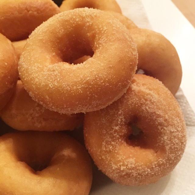 久々のレシピ★はらドーナッツのような豆乳ドーナツ★
