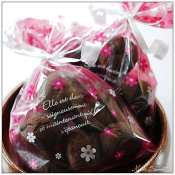 シナモンシュガーのココアボールクッキー