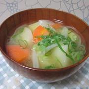 ごろごろ野菜の味噌汁