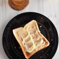 爽やか♪夏のレモンバタートースト